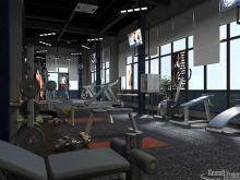 Interior GYM GYM of Hotel-EP13