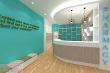 Interior Hospital Clinic at Steet 51 Paster