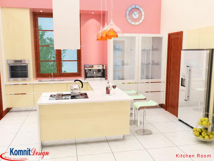 Khmer Interior Kitchen KR-K006 in Cambodia