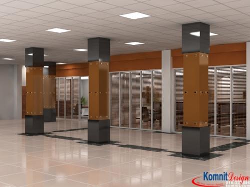 Khmer Interior Office Office-K1 in Cambodia