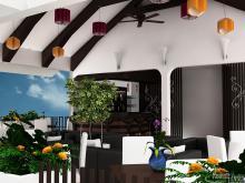 Khmer Interior Restaurant Restaurant-IP1 in Cambodia