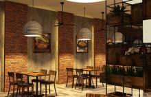 Khmer Interior Restaurant Restaurant-IP11 in Cambodia